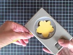 Mini Decorative Label Punch tutorial - YouTube