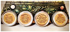 Organic Vegan Lip Balm Gift Set of 12 tins by CrystalSensation #stockingstuffer #bulkdiscount #wholesalepricing