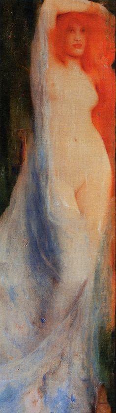 Fernand Khnopff. Acrasia Fairy Queen. 1897