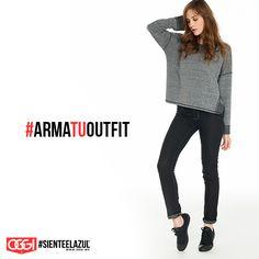 Usa el clima a tu favor ☔️ y #ArmaTuOutfit #OggiJeans #Mexico #MyStyle #Moda #SienteElAzul #StreetStyle #DailyOutfit #OOTD #Denim #Jeans #Mezclilla