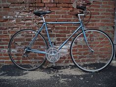 Raleigh Super Course.  Mine has a few more gears and a couple upgrades, but looks the same