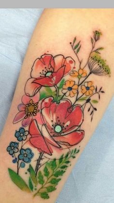 Lovely flowers #CoolTattooLife