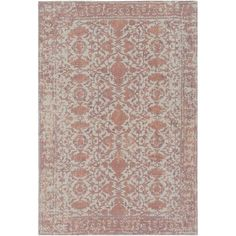 Bungalow Rose Aidyn Hand-Loomed Area Rug Rug Size: 8' x 10'