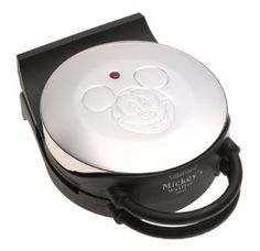 Mickey Mouse waffles! Its not exactly like the one my mom has, but I better buy one soon until they are gone forever! Just saw the exact model of my mom's on ebay going for $125!!!