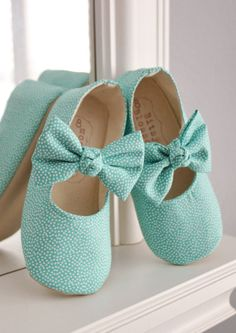 adorable turquoise baby and toddler shoes