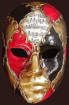 Music and Venetian Mask Carnival Of Venice, Carnival Masks, Venetian Masquerade, Venetian Masks, Masquerade Costumes, Masquerade Party, Mascaras Halloween, Costume Venitien, Venice Mask