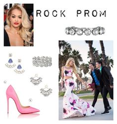 """Untitled #7"" by katie-allcock on Polyvore featuring Christian Louboutin and Stella & Dot"
