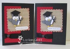 Using supplies like the SU owl punch    Punch Art Grad Owls