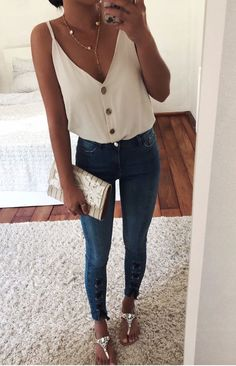 de, clique na imagem para chegar à nossa loja - Kleidung für Frauen - Mode Outfits, Chic Outfits, Fashion Outfits, Casual Night Outfits, Party Outfit Casual, Travel Outfits, Spring Summer Fashion, Spring Outfits, Elegant Summer Outfits