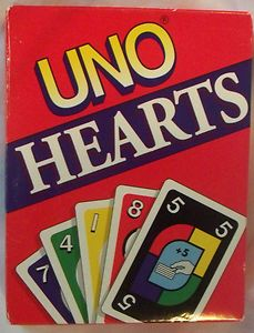 UNO Hearts Card Game 1994 Mattel Co 100 Complete for sale online Hearts Card Game, Uno Cards, Night Coffee, Indoor Recess, More Games, Childrens Party, Game Night, News Games