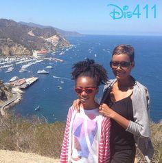 Photos: Skai Jackson Spending Time On Catalina Island August 24, 2014