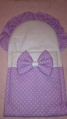Matajka / Zavinovačka pre bábiku - fialová