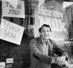 Harvey Bernard Milk (May 22, 1930 – November 27, 1978) was an American politician who became the first openly gay person to be elected to public office in California when he won a seat on the San Francisco Board of Supervisors. Milk and Mayor George Moscone were assassinated by Dan White, another city supervisor who had recently resigned but wanted his job back. Milk became an icon in San Francisco and a martyr in the gay community. http://en.wikipedia.org/wiki/Harvey_Milk