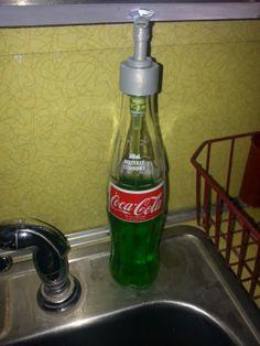 DIY Rockabilly style soap dispenser!