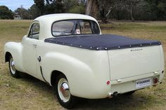 Australia's first commercially successful automobile, the Holden, was launched in November 1948 to great fanfare and featured styling influenced both . Vintage Pickup Trucks, Vintage Cars, Antique Cars, Australian Ute, Classic Trucks, Classic Cars, Holden Australia, Big Girl Toys, Car Insurance Tips