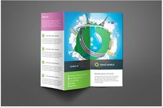 Travel Company Trifold Brochure Templates Specifications:- Standard size Trifold – inches- 2 Colors options: Light & Dark- Clea by Saptarang Business Brochure, Business Card Logo, Company Brochure, Travel Brochure Template, Travel Companies, Free Travel, Pencil Illustration, Travel Agency, Flyer Template