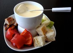 Mia's Swiss Cheese Fondue