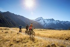 New Zealand Cycle trails (see pdf at bottom)