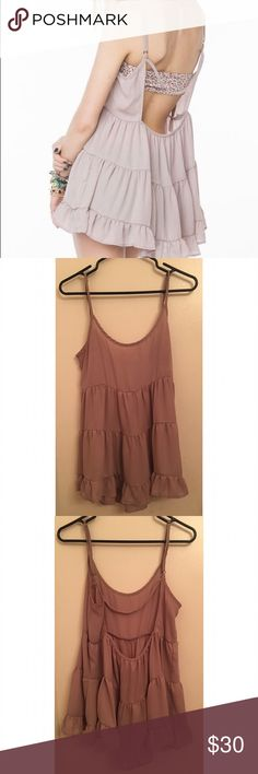 Brandy Melville Blush Jada Dress *color is in first picture, my pictures look darker than what it is. Brandy Melville Dresses
