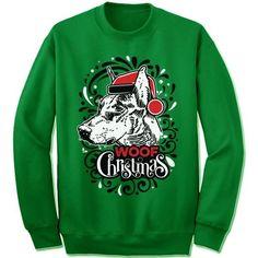 Doberman Pinscher Ugly Christmas Sweater.