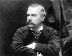 Pierpont Morgan in London, 1881