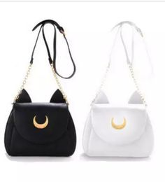 Sailor Moon Luna & Artemis Purse