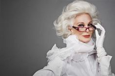 Carmen Dell'Orefice - The fascinating confessions ofan84-year-old model