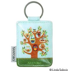 Santoro/London Owl Collection, Key Ring, by Linda Solovic, via Behance