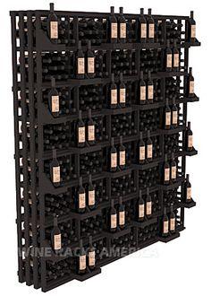 Rectangular Bin Wall Display 520 Bottle | Retail Edge Series™ Wine Rack