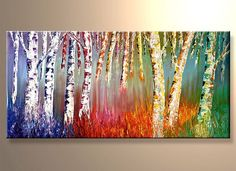 bright landscape paintings - Google Search