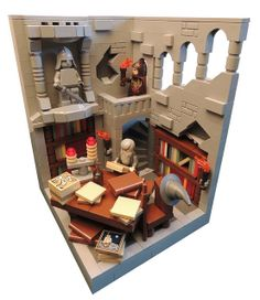 LEGO Lord of the Rings - The Isildur's Account Statue and shelf inset