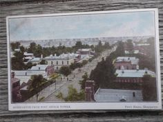1906 Post Office Tower Shepparton Victoria Postcard Homes Architecture Street   eBay