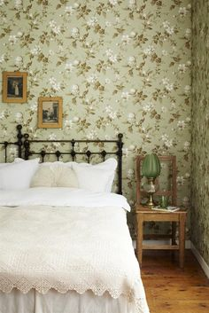 I've always liked wallpaper! Heard it's making a comeback, may be something to think about?