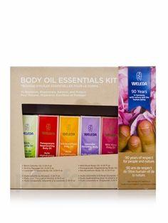 weleda skin oil set