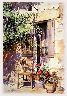 Christian Graniou WATERCOLOR                                                                                                                                                                                 Más
