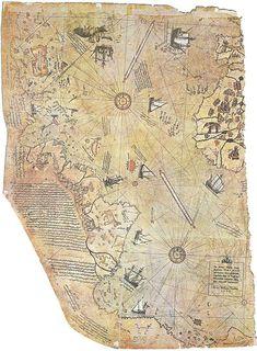unsolved mysteries piri reis map