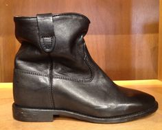 Leather boots by #IsabelMarant #boots #shoes #FolliFollie #FW14collection