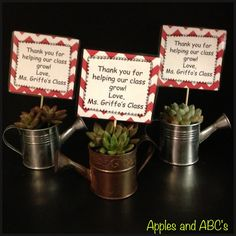 Succulent Care Printable Teacher Appreciation Ideas For 2019