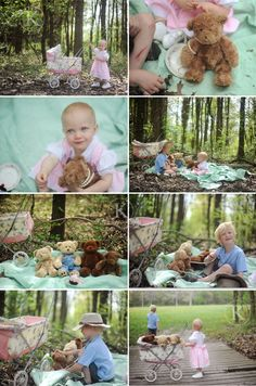 Need some inspiration for the long days of summer vacation? How about taking the teddy bears on a picnic? More activities for kids & child friendly party favors at http://pinterest.com/wineinajug/kid-party-activities/