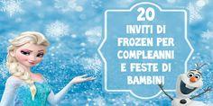 Biglietti Inviti Frozen Stampare