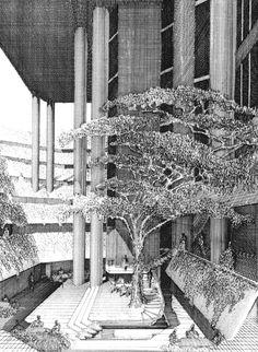 Paul Rudolph - Hirsch/Holsten House - New York, 1968. - Google Search