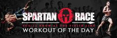 Spartan Race work out of the day. Some of these are seriously brutal.