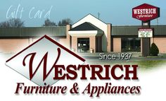 On The First Day Of Christmas My True Love Sent To Me A Westrich Furniture Gift Card