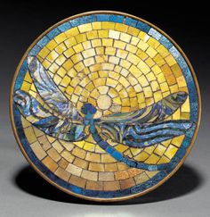 Tiffany Studios | Dragonfly Tea Stand