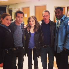 Up close and personal with our #ChicagoPD cast.