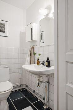 En otrolig lyx med gäst-WC i en tvåa!