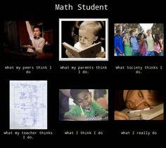 Math student! #mattamatica