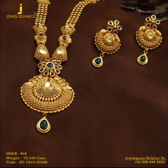 Gold 916 Premium Design Get in touch with us on Silver Jewellery Online, Gold Jewellery Design, Handmade Jewellery, Gold Jewelry Simple, Hand Jewelry, Jewlery, Jewelry Box, Necklace Designs, Bridal Jewelry