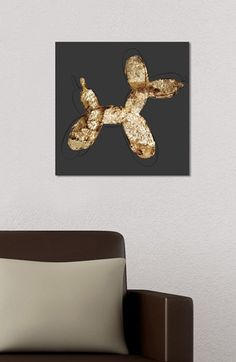 Free shipping and returns on Oliver Gal 'Balloon Dog Rock' Wall Art at Nordstrom.com. A quirky image stands out on a distressed canvas hand stretched over a sustainably harvested, FSC-certified wood frame. A limited open edition with a certificate of authenticity by the artist, it comes ready to hang with all hardware included.