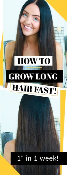 "how i grew long hair fast just in time for summer (one inch in a week) Move over., Hair Care Tips, "" how i grew long hair fast just in time for summer (one inch in a week) Move over mermaids! Growing Long Hair Faster, Longer Hair Faster, Grow Long Hair, Grow Hair, Long Hair Tips, Hair Care Tips, Move Over, Tips Fitness, Equador"